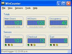 WinCounter main screen